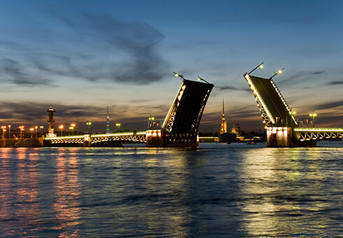 Saint Petersburg bridges