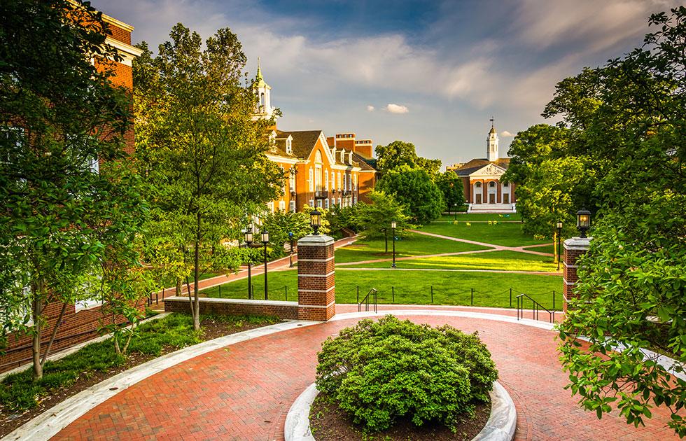 Johns-Hopkins-student-campus